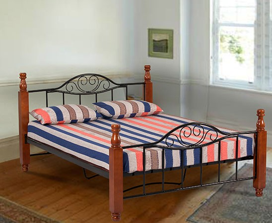 Steel Bed Find Furniture And, Wood And Steel Bedroom Furniture